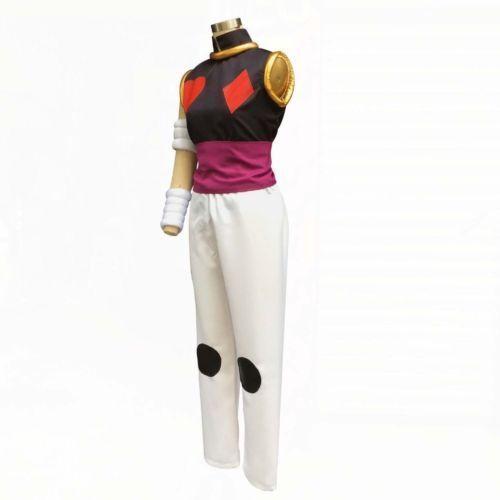 Details about  /Hunter X Hunter Magician Poker Joker Hisoka Morow Serial Killer Cosplay Costume/&