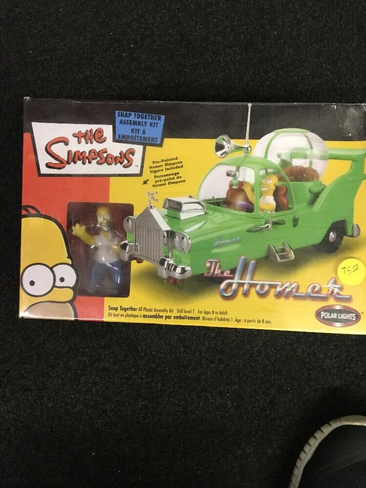 Simpsons The Homer Model Car Kit polar lights kit shrinkwrapped sealed box