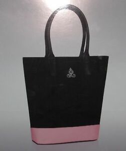 02a9f36167be Women Ralph Lauren Tote Bag Pink Black Canvas Tote Bag Travel ...