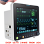 thumbnail 2 - 12'' ICU Portable Medical Patient Monitor Vital Signs SpO2/PR/NIBP/ECG/RESP/TEMP