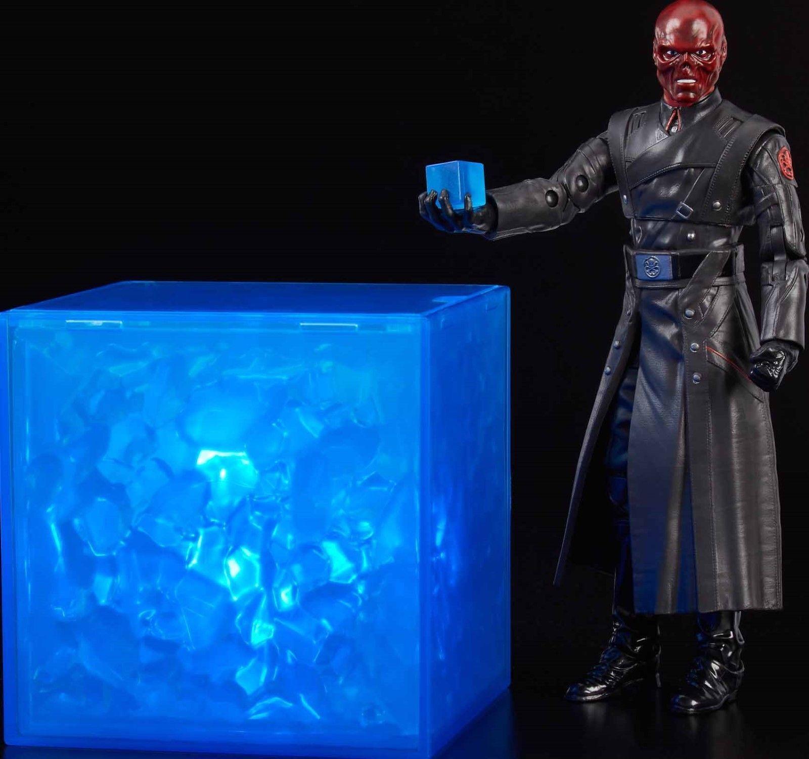 Marvel - legenden sdcc rot skull & tesserakt 6 inch abbildung neue