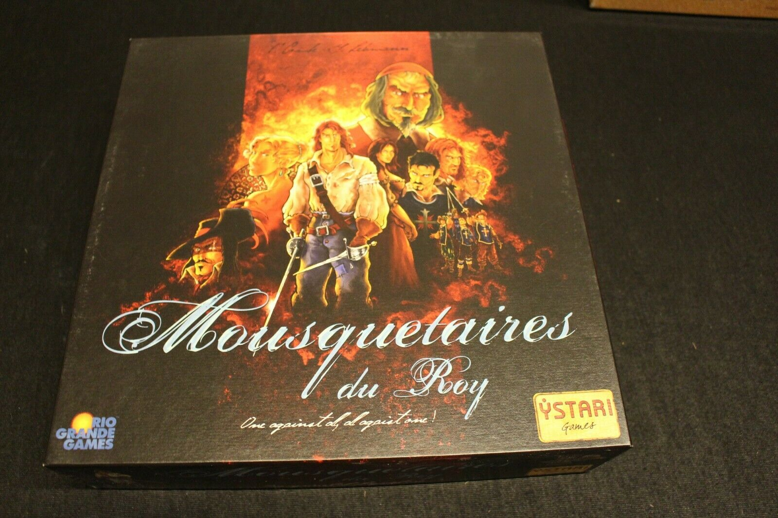 Mousquetaires du Roy Board Game Rare OOP