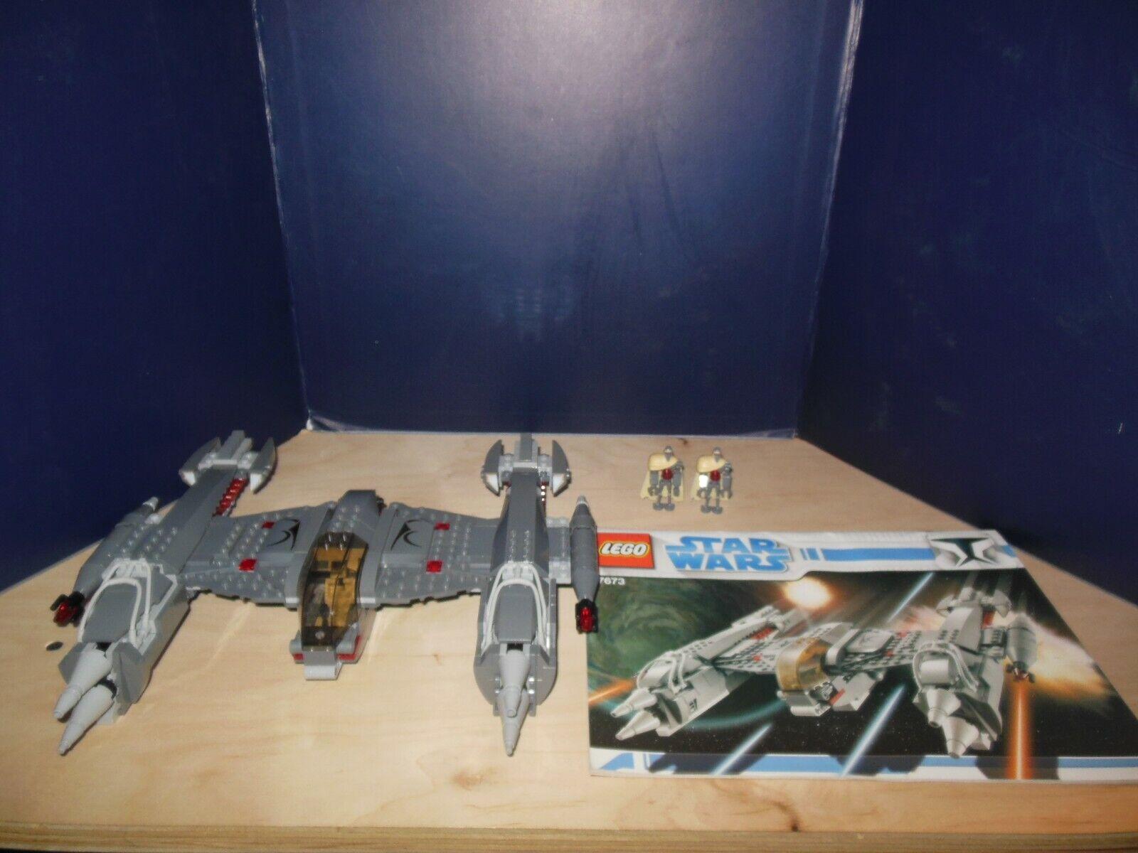 LEGO estrella guerras 7673 MagnaGuard estrellacombatiente 100%  completare w  uomoual & Minicifras  essere molto richiesto