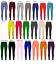 Girls-Kids-Plain-Cotton-Thick-Long-Length-Leggings-Age-2-13-Dance-Brown-Black thumbnail 10