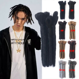 6-034-Reggae-Dreadlocks-Afro-Dreads-for-Men-Synthetic-Twist-Braids-Hair-Extensions