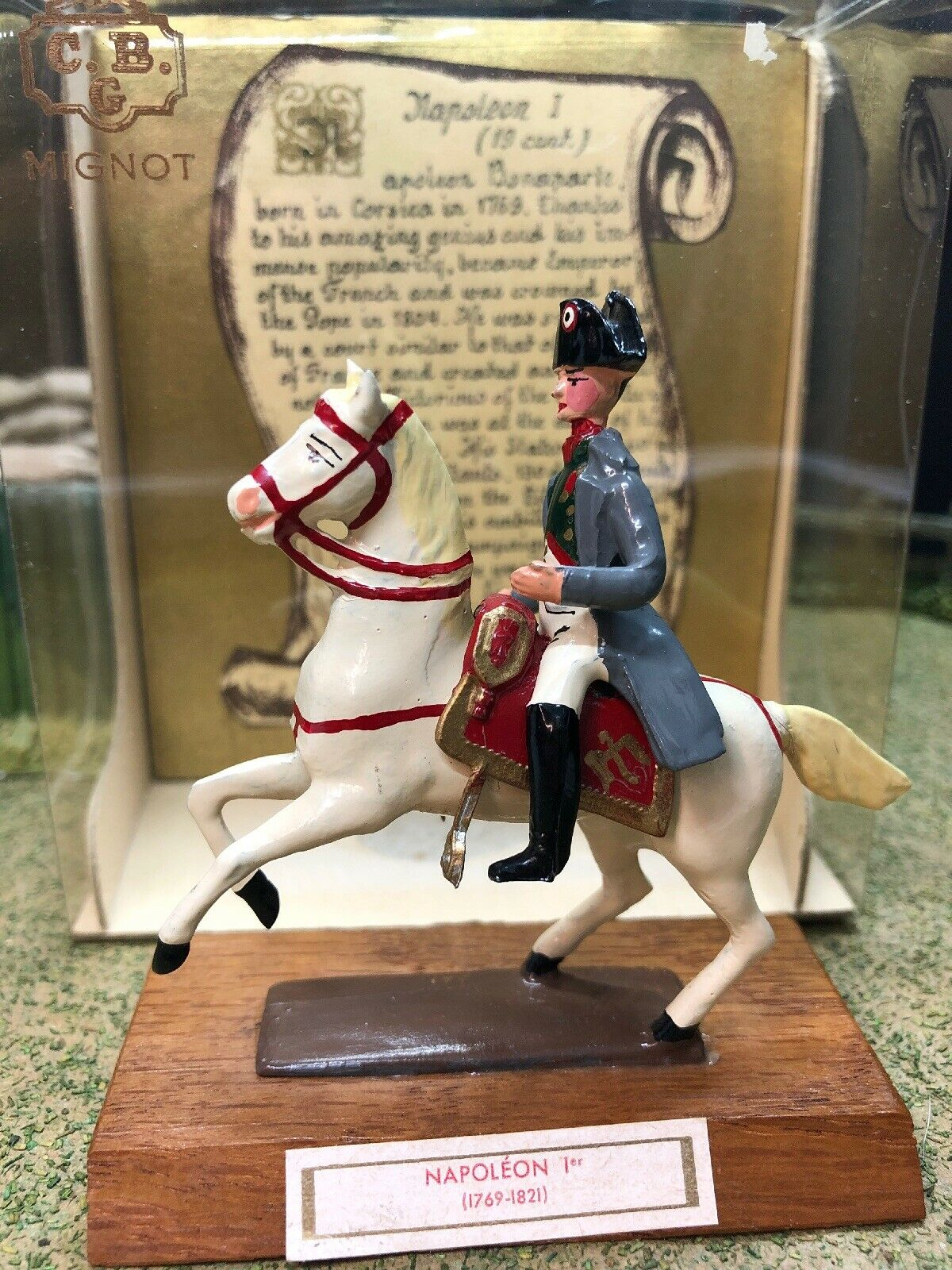 CBG Mignot Single SetNapoleon I (1769-1821) 1 32 54mm scale made in France