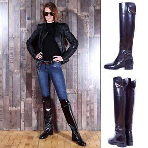 994c160f84f Image is loading NEW-650-MAURIZIO-PORTONI-designer-over-knee-leather-