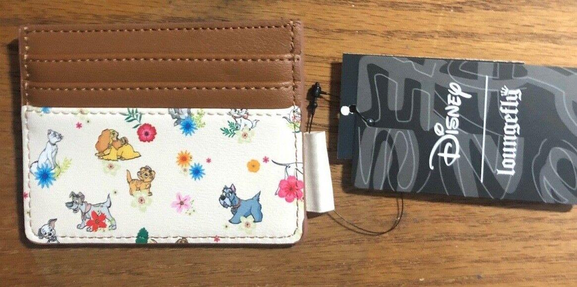 Loungefly Disney Pets & Florals Cardholder Wallet