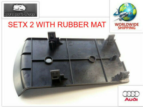 Rubber Mat Plate 2006-2014 OEM Audi TT TTS Roadster Center Console Cover Plate