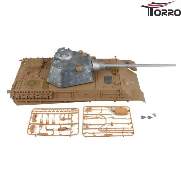 Upper Hull with Metallturm 360° Bb Heng Long Taigen Torro Tank 1 16 Panther F