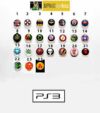 Custom PlayStation 3 PS3 Home Buttons  - Over 20 Options Available - READ!