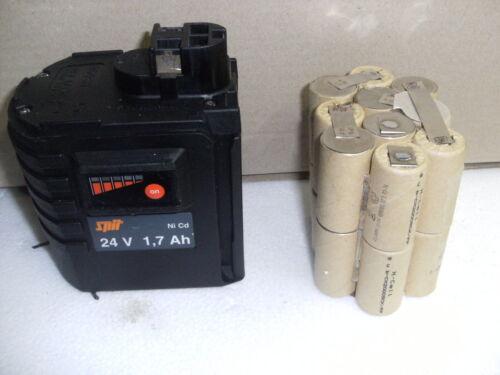 1 Kit batterie battery bateria  Akku SPIT BOSCH, BERNER  WURTH en  2,5AH NI MH