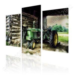 Barn-Farms-Log-by-Split-3-Panels-Ready-to-hang-canvas-3-Panels-Wall-art-HD