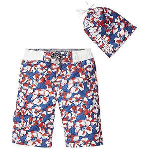 83a5d94282 Tommy Hilfiger Swim Trunks Flower Print Size 116, 140, 152, 164 New ...