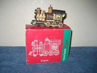 Home Towne Express - 1998 Edition Train Engine Jc Penny Christmas Village -
