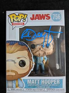 RICHARD-DREYFUSS-Signed-MATT-HOOPER-Funko-Pop-JAWS-Autograph-BAS-Beckett-COA