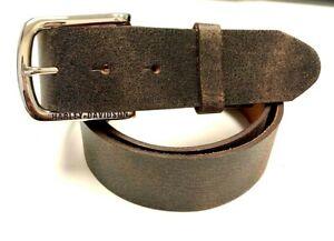 Harley-Davidson Men/'s Zipper Money Belt Genuine Leather Belt HDMBT11190-BLK