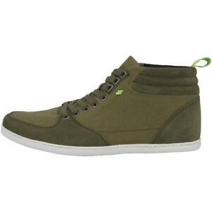 di pelle Sh in scamosciata Boxfresh chiaro balistica marrone Sneaker Eplett E15371 scozzese Nylon xqZnRp