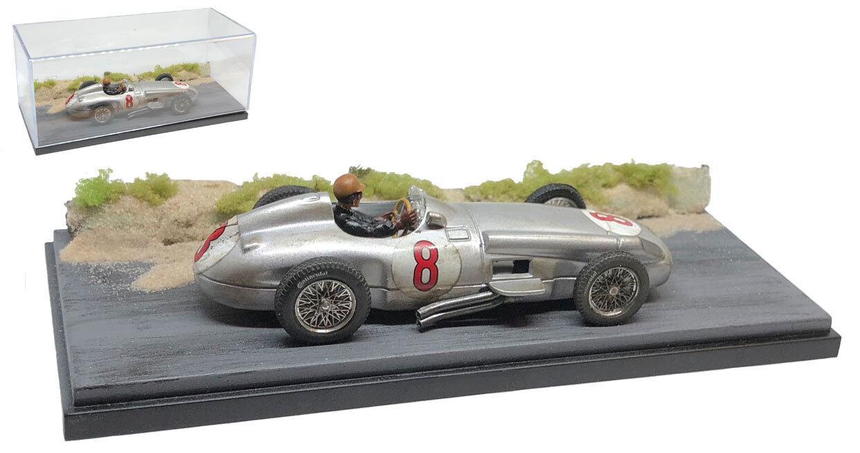 SC12 MERCEDES W196 #8 WINNER DUTCH GP 1954-Juan MANUALE FANGIO scala 1/43