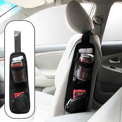 Car Seat Side Back Storage Vehicle Multi Use Pocket Holder Organizer String Bag