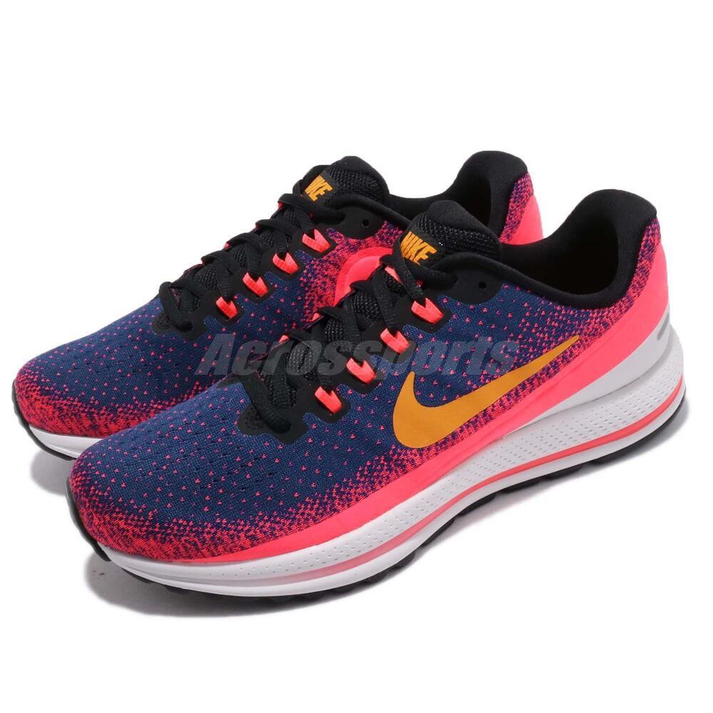 Nike Air Zoom Vomero 13 XIII Bleu Void Orange Peel homme fonctionnement chaussures 922908-483