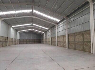 Renta de bodega industrial de 1,100 m2 en Toluca