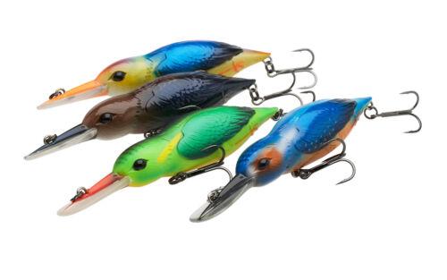 DAM EFFZETT Eisvogel 11cm//28g /& 14,5cm//35g Kingfisher Wobbler Crankbait