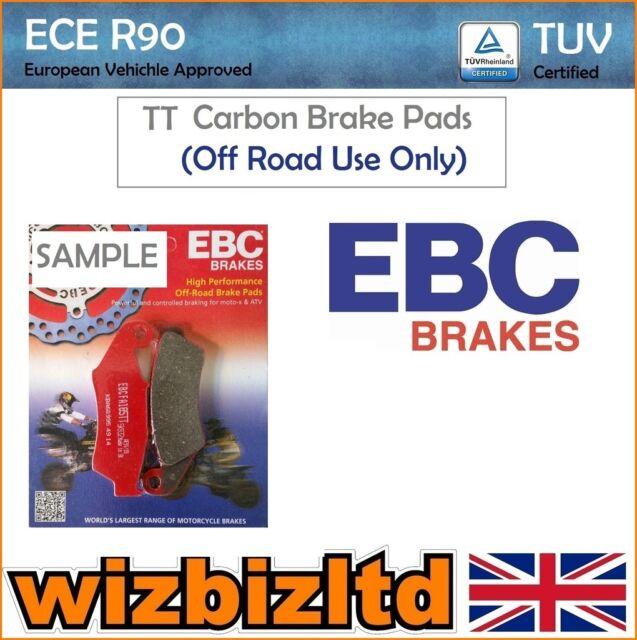 EBC Trasero Carbono Tt Pastillas de Freno YAMAHA YZ 125 D/E/F / G/H/J (2t)