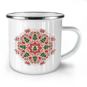 Mandala Tree NEW Enamel Tea Mug 10 oz | Wellcoda