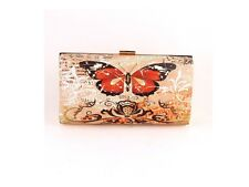 Black Butterfly Fashion Clutch Bag Evening Bag ~ Great Gift Idea!