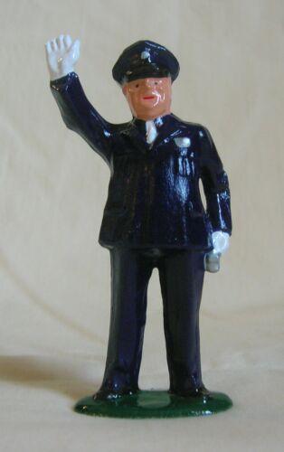 Standard Gauge train figure Traffic Cop Reproduction dimestore Policeman