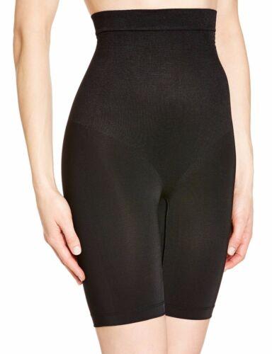 Maidenform 12433 Hi-Waist Thigh Slimmers Shapewear FIRM CONTROL Black Medium $40