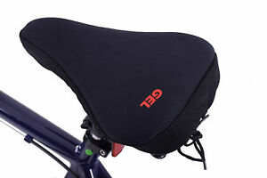 Womens Bike Spin Seat Soft Gel Extreme Comfort Padded