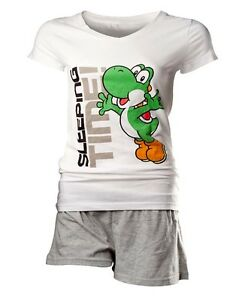 Official-Nintendo-Super-Mario-Yoshi-Sleeping-Time-Shortama-Shorts-Pyjamas-Set