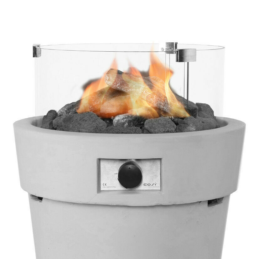 Round Cosiglass Set For Cosidrum Fire Pit