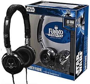 NEW* Star Wars Darth Vader Fold Up Headphones - IPod DS