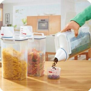 Food-Storage-Box-2-L-Plastic-Kitchen-Containers-Refrigerator-Food-Grain-Cereal