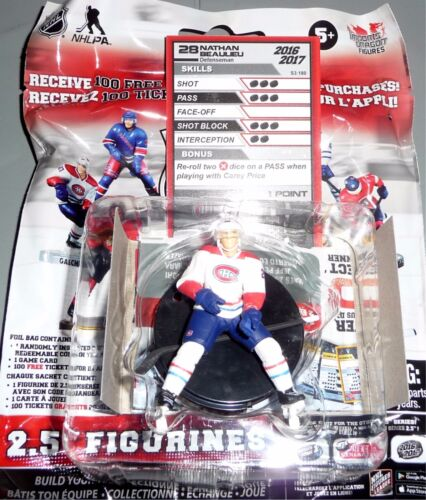 NATHAN BEAULIEU Montreal Canadians 2.5 Series 3 NHL Imports Dragon Figure LOOSE