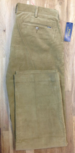 Polo Ralph Lauren Men/'s Stretch Classic Fit Newport Corduroy Pants MSRP $145