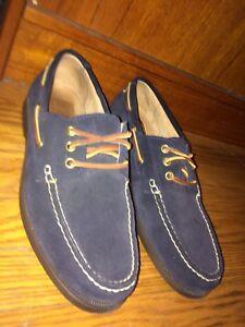 ff3515c31 Polo Ralph Lauren Bienne Boat Shoes. Men s Size 10. Deep Navy Blue ...