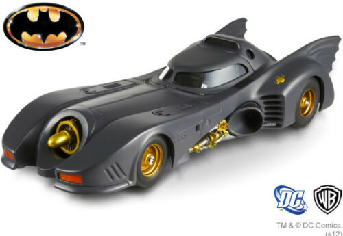 X5494 1989 Batman Batmobile Gotham 1:43 Maßstab Druckguss Modell Hotwheels Auto