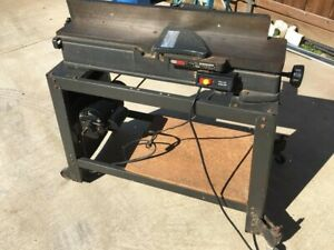 Sears Craftsman Jointer Planer 6 1 8 Model 113 20680 Vintage Good Condition Ebay