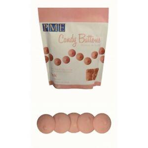 2 x 12oz PME PINK Candy Button Melts Pops Sugarcraft Cake Cookie Decoration Dip