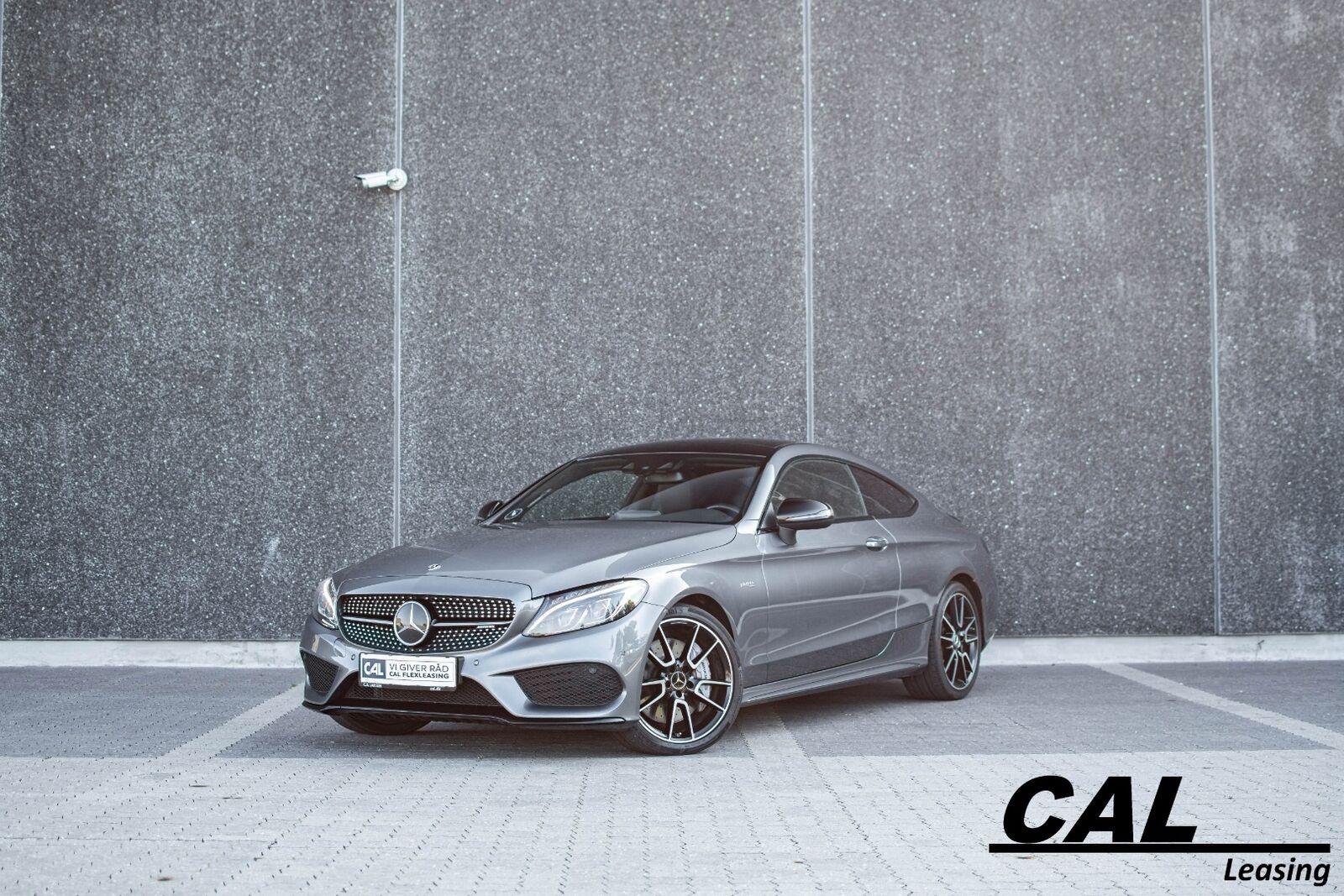 Mercedes C43 3,0 AMG Coupé aut. 4Matic 2d - 3.196 kr.