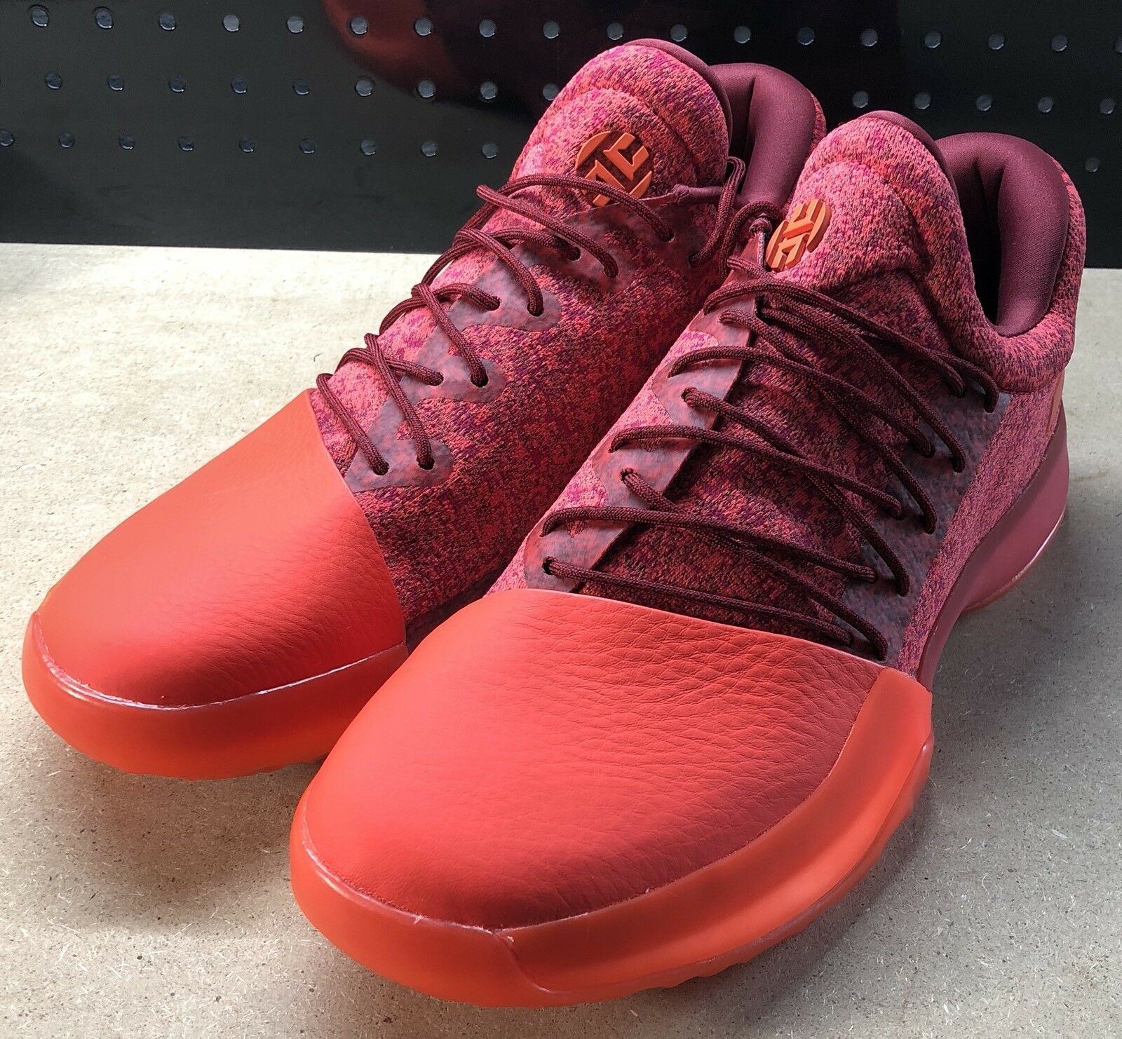 Adidas James Harden Vol 1 Red Glare Basketball Shoes Size 11 B39501