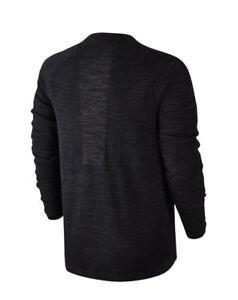 Nike-Tech-Knit-Trui-Pullover-Sweater-728673-010-Black-L