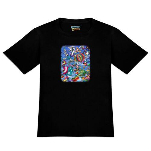 Kites Flying Riding The Wind Men/'s Novelty T-Shirt