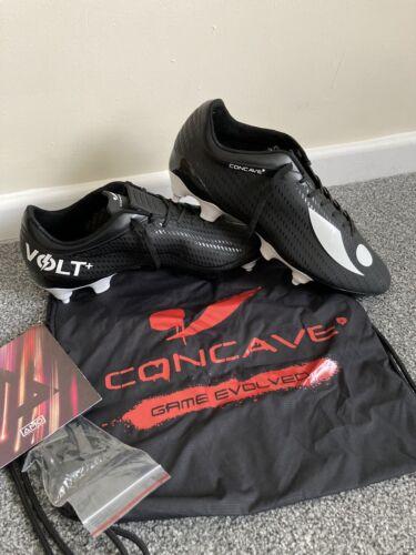 SG Chaussures De Football Noir /& Blanc-UK 8.5 US 9 EU 42.5 Concave Volt