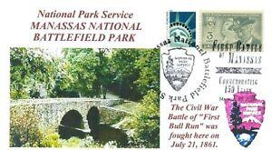 Manassas-Nazionale-Battaglia-National-Park-Guerra-Civile-Beige-Ponte-Nps-con
