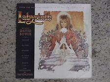 LP BRAZIL OST Labyrinth David Bowie And Trevor Jones (EMI America, 1986)